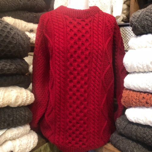 Handknit Aran Sweater Hkas4 Aran Islands Sweaters
